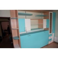 Шкаф кровать 02 (Мебель трансформер)