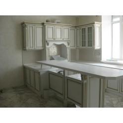 Кухня из массива 01