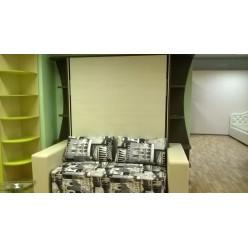 Шкаф-кровать с диваном 05 (Мебель трансформер)
